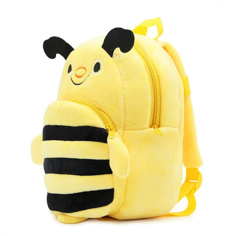 Велюровый рюкзак «Пчелка»