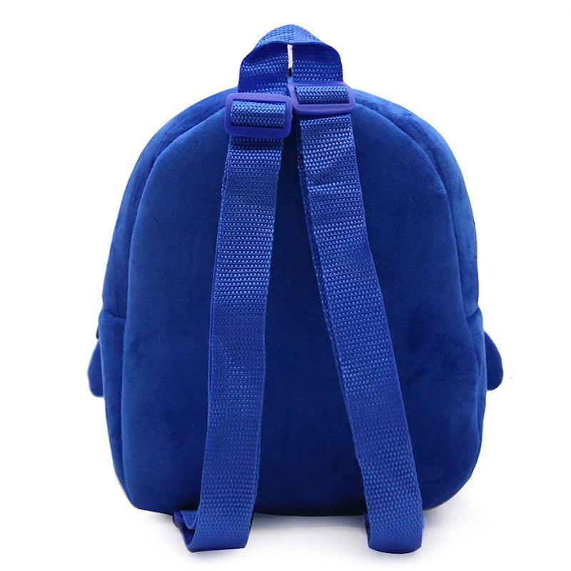 Велюровый рюкзак «Пингвин»