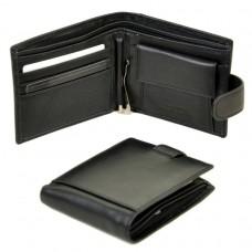 Мужской кожаный кошелек M13-1 black