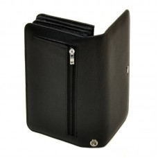 Мужское кожаное портмоне M29 black