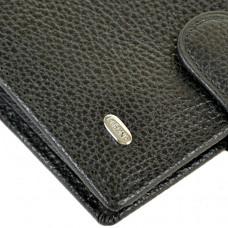 Мужской кошелек из натуральной кожи M33 black