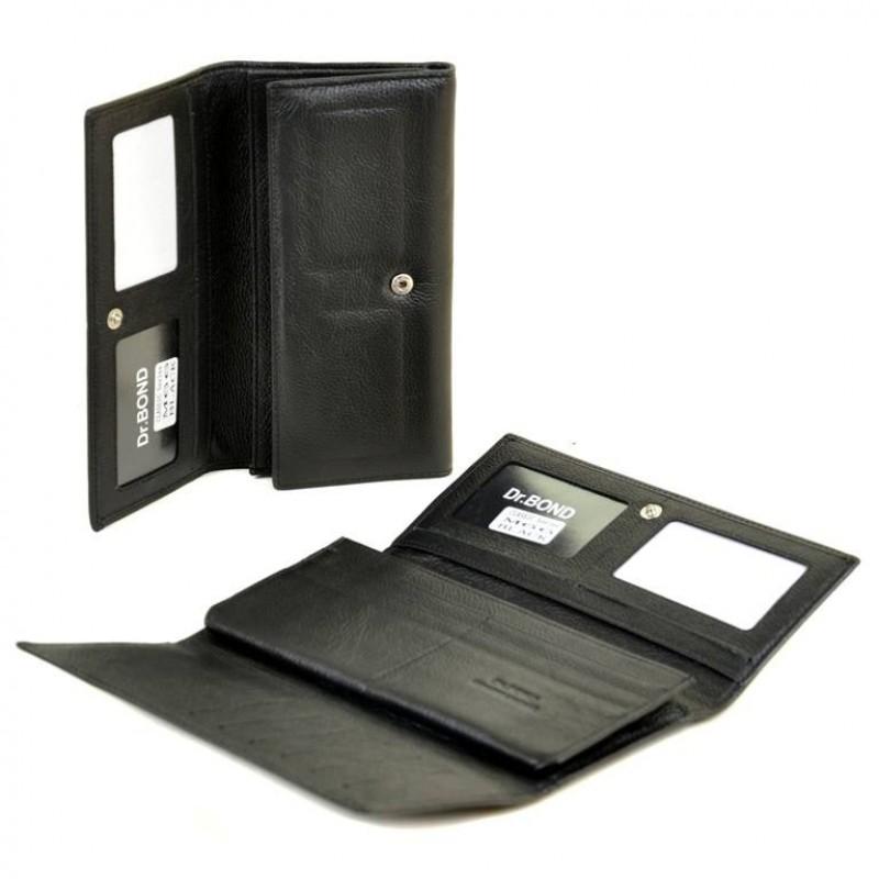 Мужское кожаное портмоне M66 black