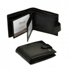 Мужской кошелек на кнопке MS-27 black