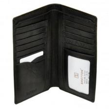 Мужское портмоне без застежки MS-35 black