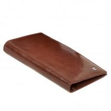 Мужское портмоне без застежки MS-35 coffee