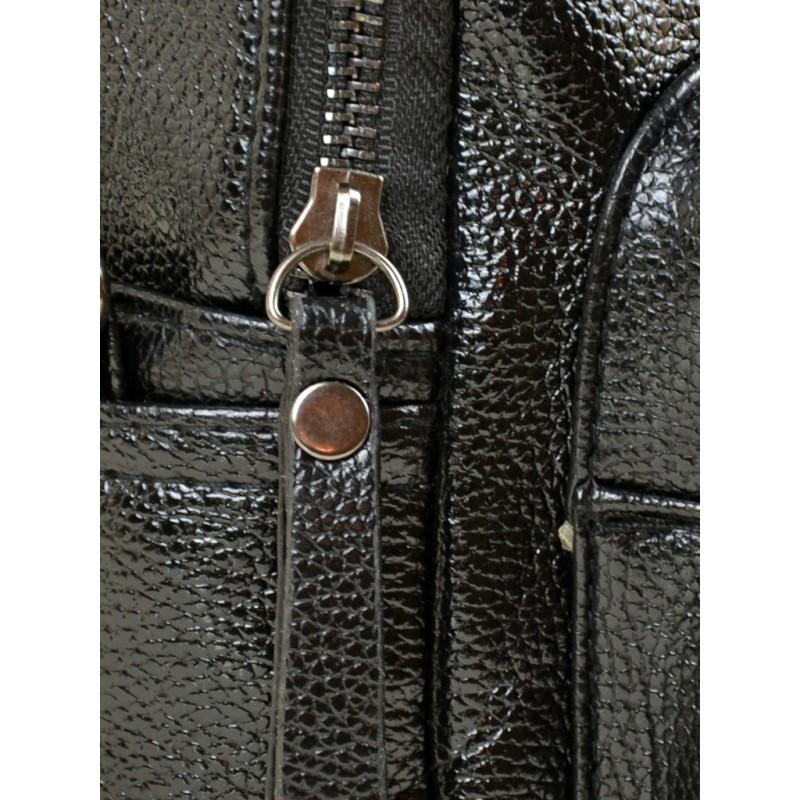 Маленький женский рюкзак Alex Rai 2-05 1703-0 black
