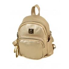 Маленький женский рюкзак Alex Rai 2-05 1703-0 gold