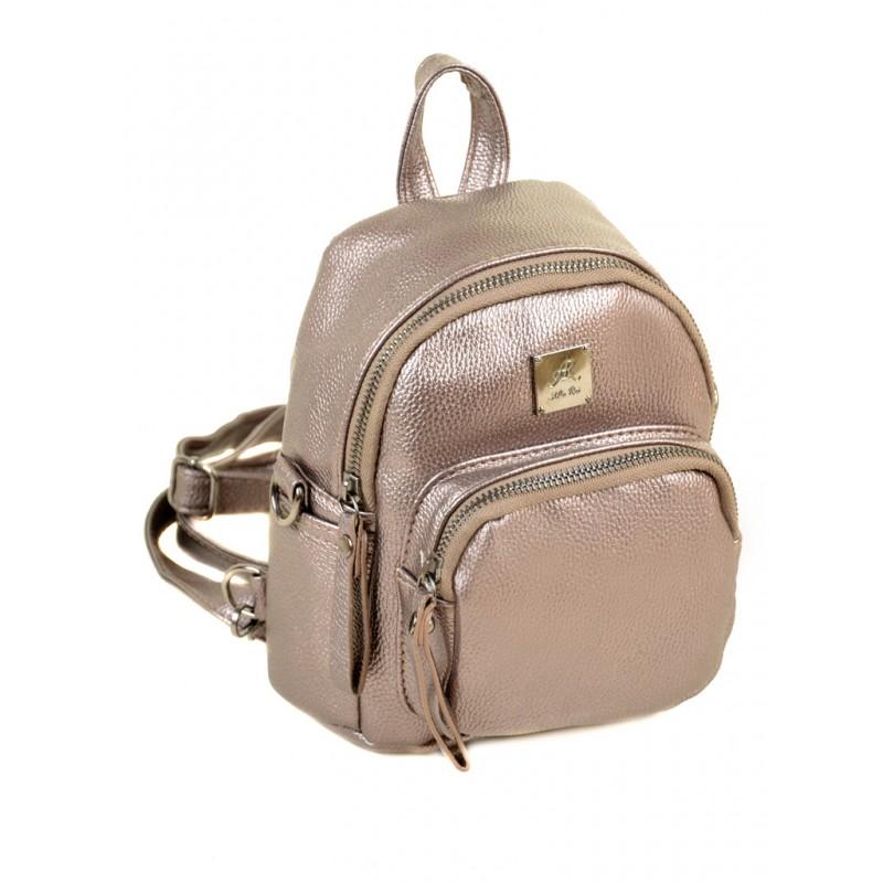 Маленький женский рюкзак Alex Rai 2-05 1703-0 iron-grey