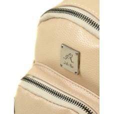Маленький женский рюкзак Alex Rai 2-05 1703-0 light-coffee