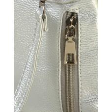 Маленький женский рюкзак Alex Rai 2-05 1703-0 silver