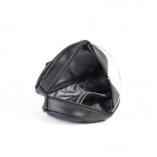 Женская сумка на пояс черная
