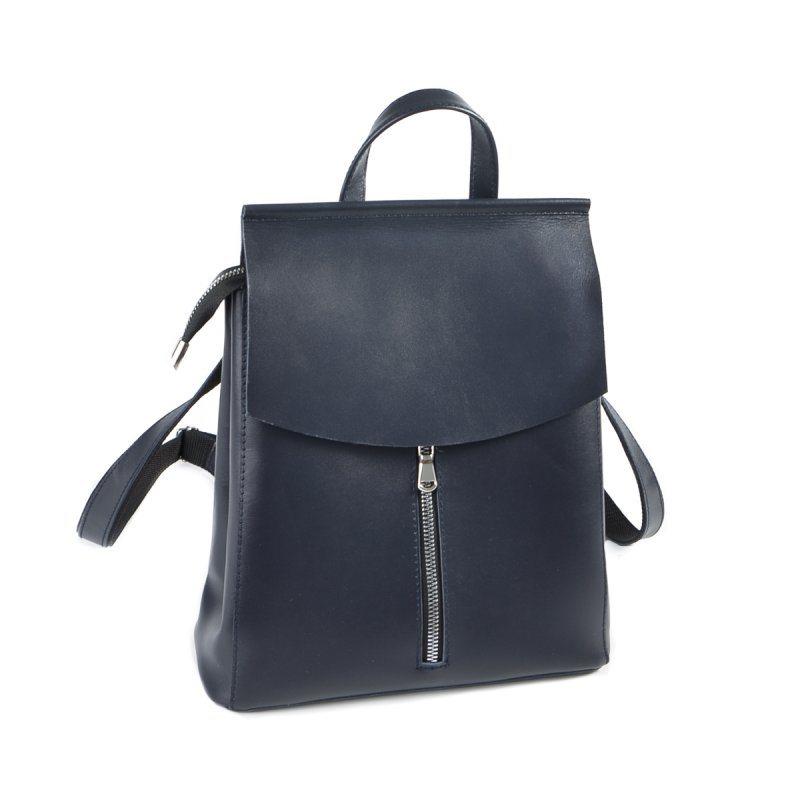 229e36bfe12f ✅ Женский кожаный рюкзак-трансформер М156 blue: купить 👜 «ГАРНА СУМКА»
