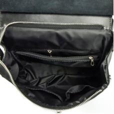 Женский кожаный рюкзак-трансформер М156 black