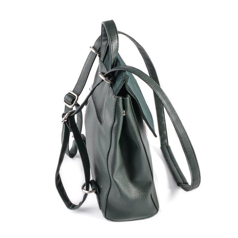 Женский рюкзак-трансформер М159-73/замш