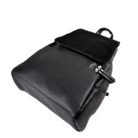 Женский рюкзак с замшевым клапаном М104-47/замш