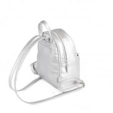 Женский серебряный рюкзак М124-98