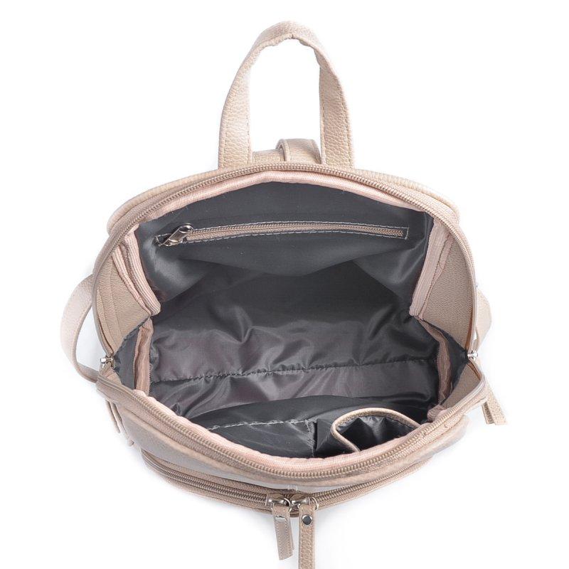 Женский бежевый рюкзак М134-66