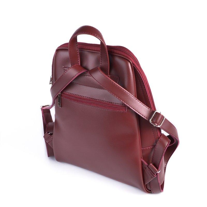 Бордовый женский рюкзак М207-70