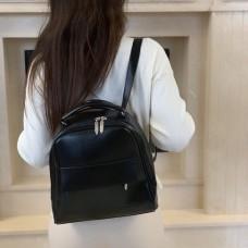 Черная сумка-рюкзак (трансформер) М231-33