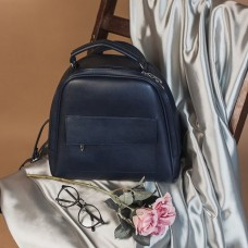 Синяя сумка-рюкзак (трансформер) М231-62