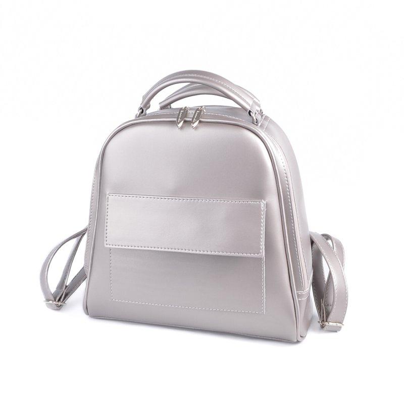 Серебристый рюкзак-трансформер М231-76