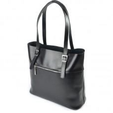 Женская сумка из натуральной кожи М163 black