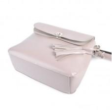 Женская кожаная сумка М151 grey