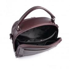 Женская кожаная сумка М198 brown
