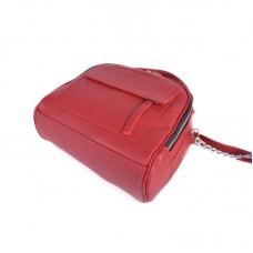 Женская кожаная сумка М198 red