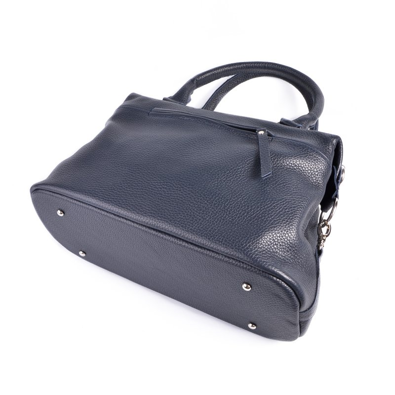 Женская сумка из натуральной кожи М240 blue
