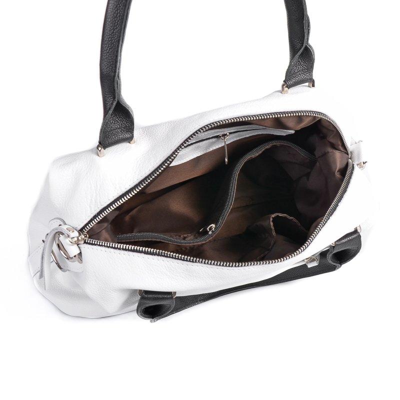 Женская сумка из натуральной кожи М240 white