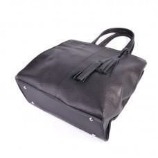 Женская кожаная сумка М243 black