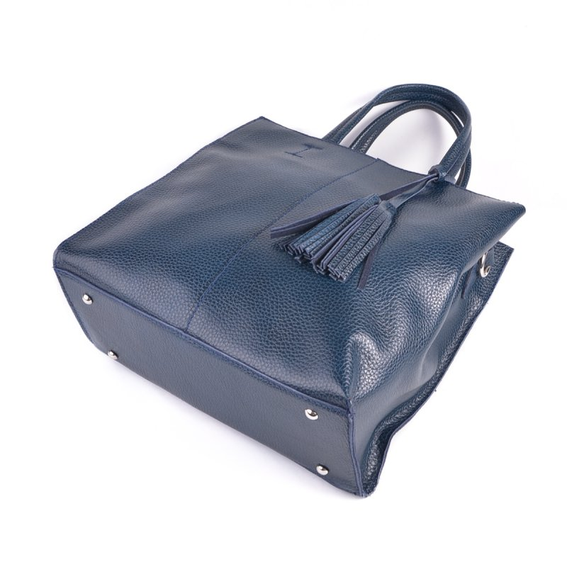 Женская кожаная сумка М243 blue
