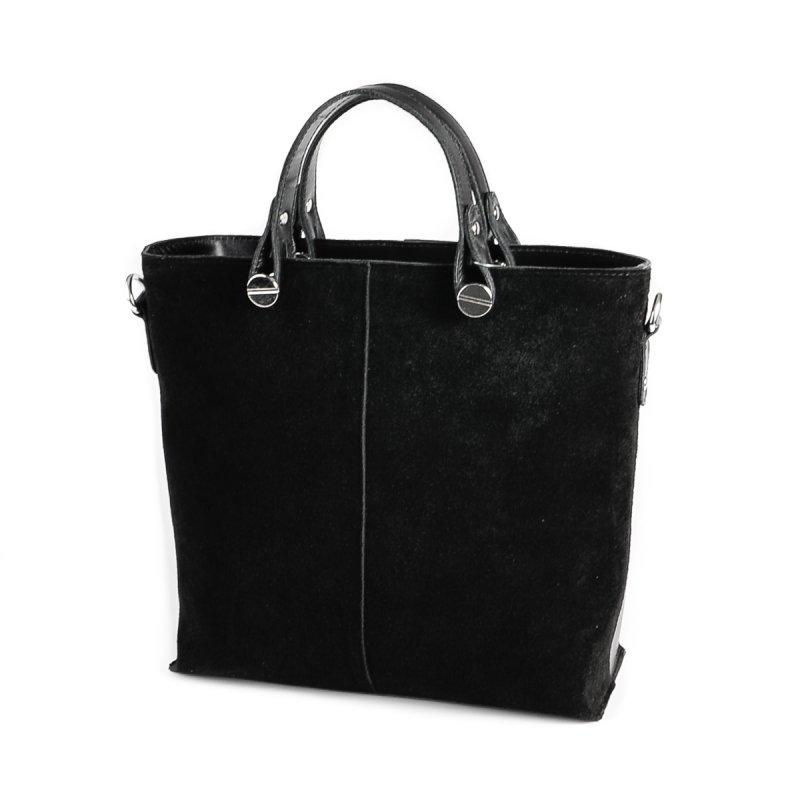 109b5543e693 ✅ Женская сумка из натуральной кожи и замши М73-н/замш: купить ...