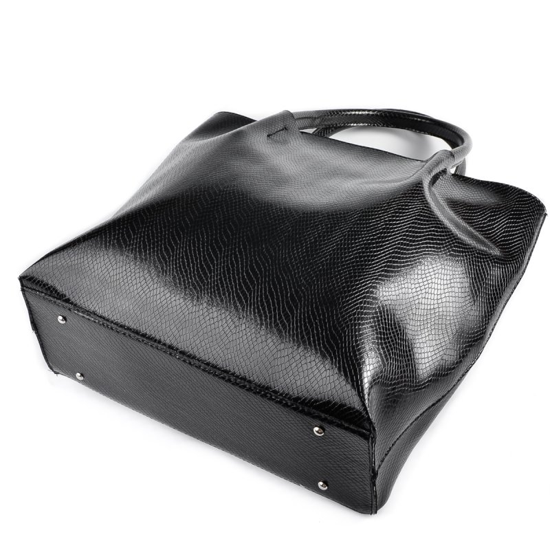 Сумка-шоппер под кожу питона М178-99