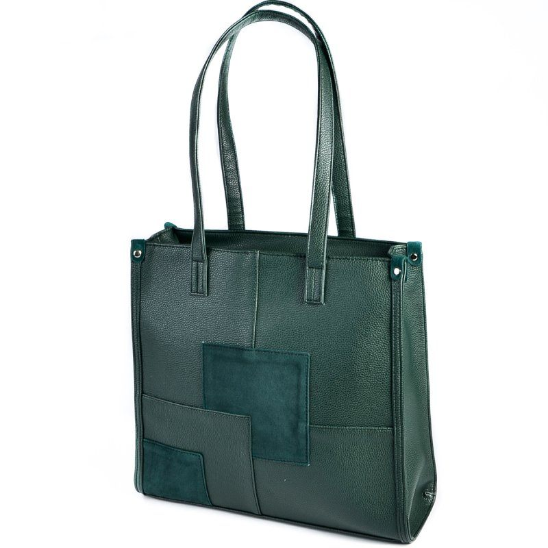 Женская сумка М102-73/замш