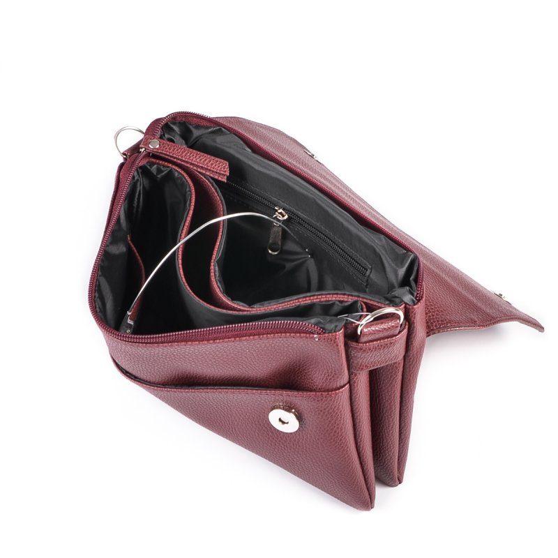 Женская сумка на длинном ремне М110-38