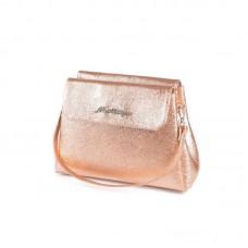 Женская золотая сумочка на плечо М126-89