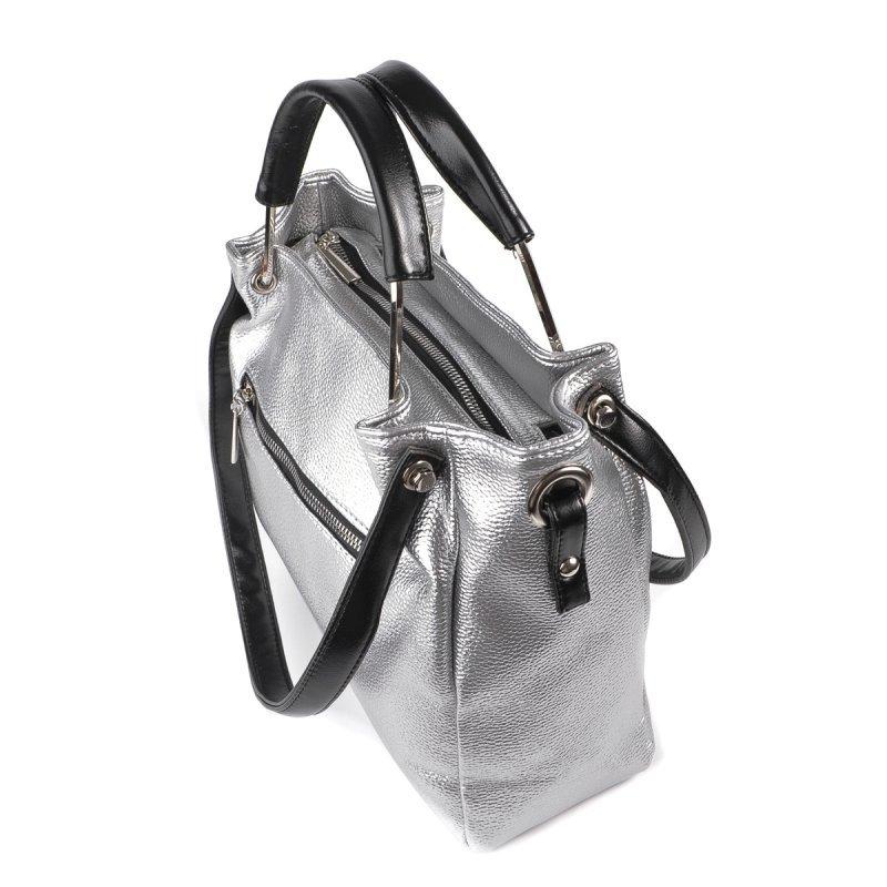 Женская серебристая сумка М164-72/Z