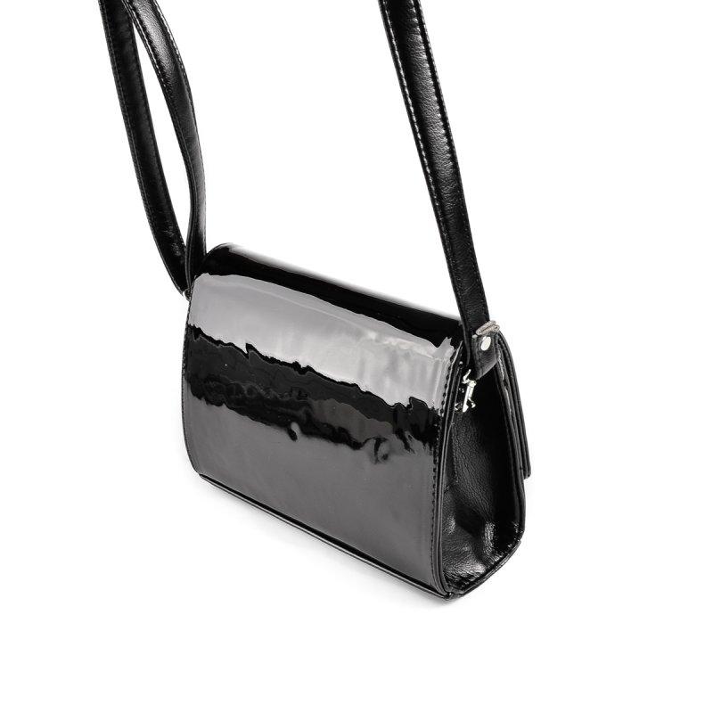 Женская каркасная сумочка М172-лак/Z