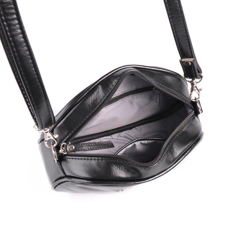 Мини-сумочка круглой формы М174-Z/лак