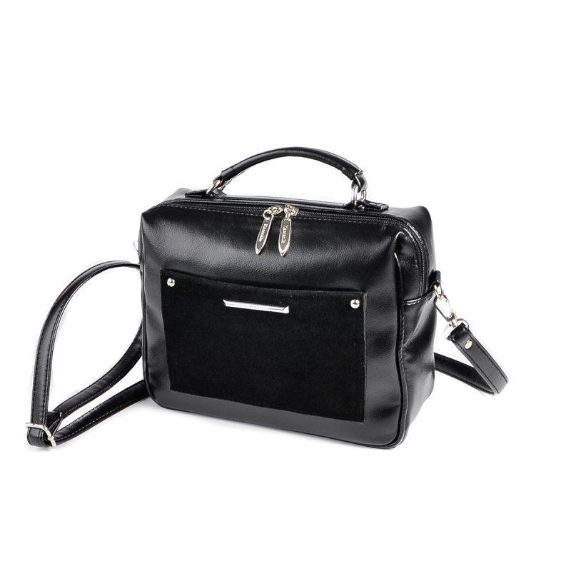 Сумка-чемоданчик М192-Z/замш