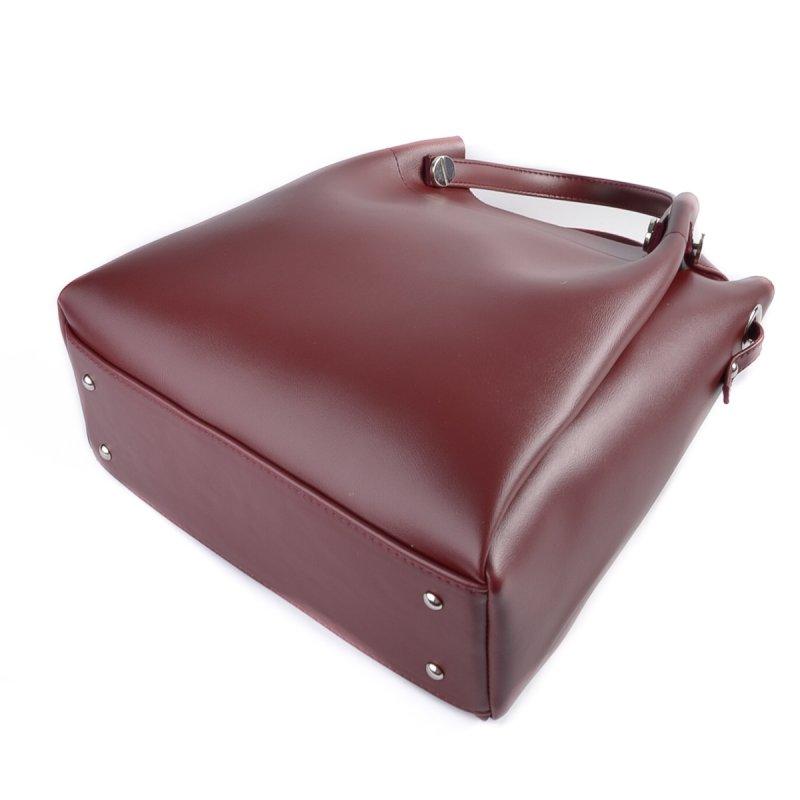 Женская сумка из кожзаменителя М206-70/бордо