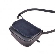 Женская сумочка с замшевым клапаном М55-39/замш