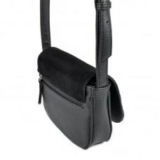 Женская сумочка с замшевым клапаном М55-47/замш