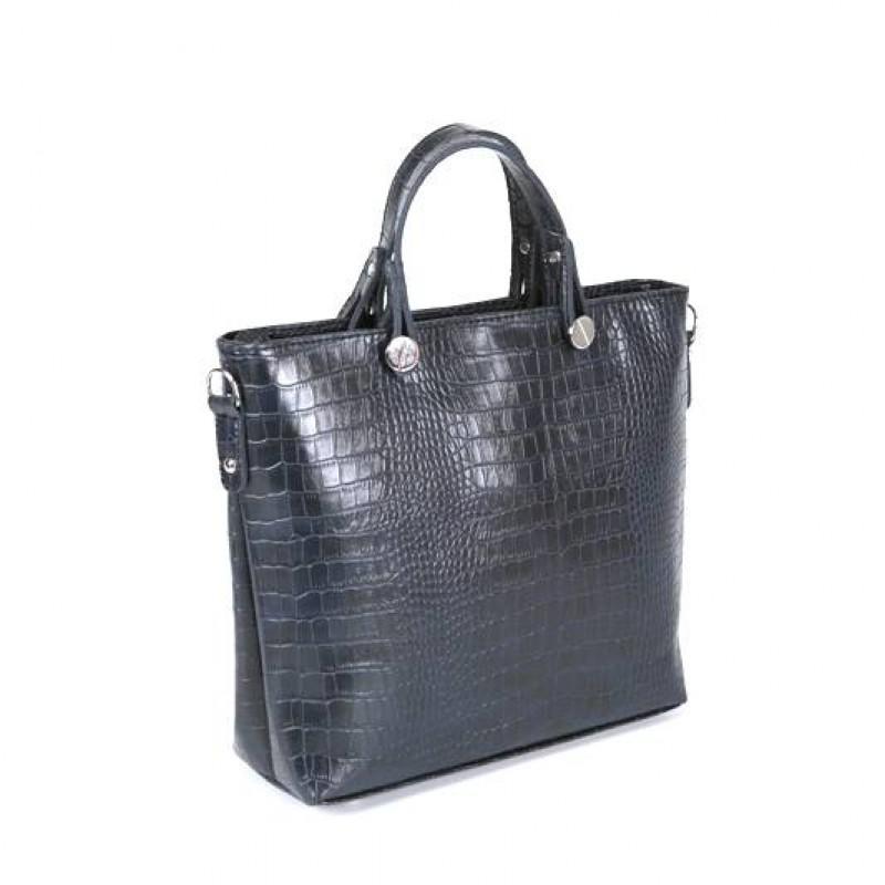 Женская сумка с тиснением «крокодил» М61-11