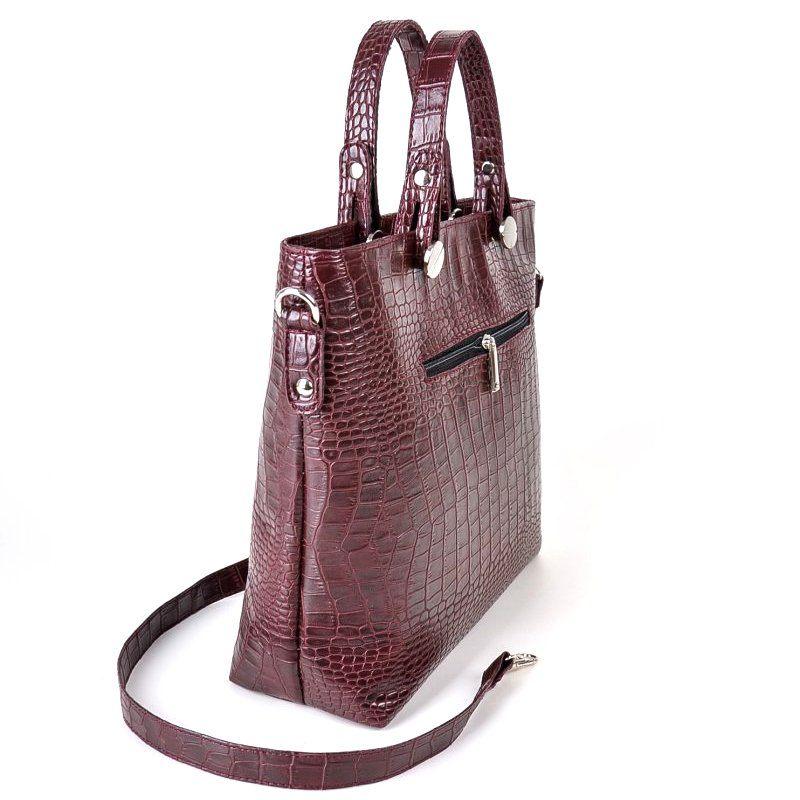 Женская сумка под кожу крокодила М61-37