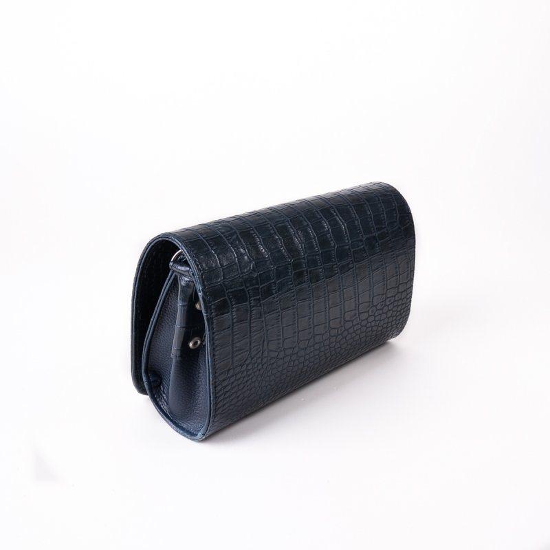 Женский клатч с тиснением «крокодил» М63-11/39
