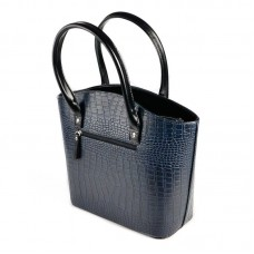 Женская лаковая сумка под кожу крокодила М64-11/Z