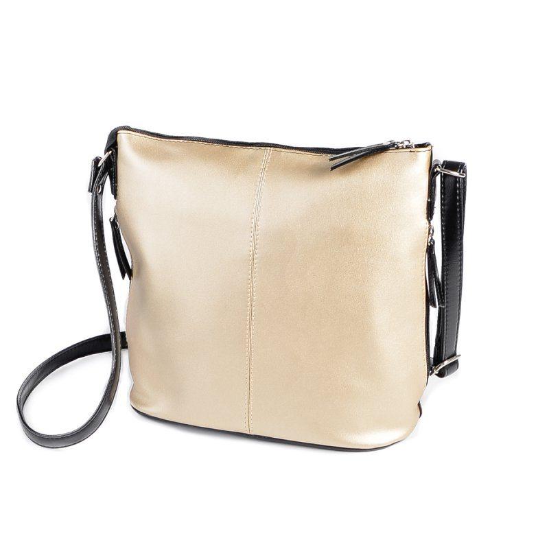 Золотая сумка на плечо М78-Z/95